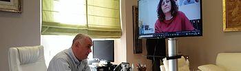 Videoconferencia Diputación de Guadalajara y CEOE.