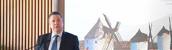 El presidente de Castilla-La Mancha, Emiliano García-Page, preside, en el Cigarral del Ángel, la entrega de los galardones al 'Éxito Empresarial en Castilla-La Mancha 2019', otorgados por la revista Actualidad Económica. (Fotos: José Ramón Márquez // JCCM)