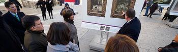 """Inauguración de la exposición """"El Prado en las calles"""" en Albacete. Foto: Manuel Lozano García / La Cerca"""