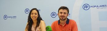 Rueda de prensa NNGG en Cuenca.