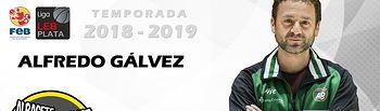Alfredo Gálvez  renueva con el Arcos Albacete Basket