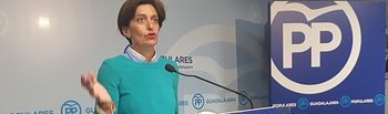 Ana González, senadora PP Guadalajara.