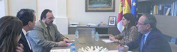 El Gobierno regional informa a la Tax Foundation sobre la política tributaria de Castilla-La Mancha.