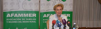 Carmen Quintanilla, presidenta nacional de Afammer. Foto: Picasa