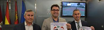 Presentación XVIII edición del Trofeo de Navidad de Tenis y Pádel.