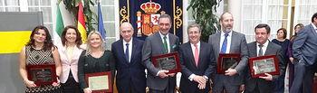 """Jorge Fernández Díaz: """"Es un verdadero orgullo el reconocimiento público que se hace con este premio a la Fundación de Víctimas del Terrorismo"""". Foto: Ministerio del Interior"""