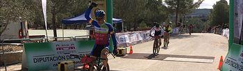 Santiago Madrona, ganador en Villamalea.