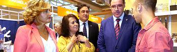 Prieto remarca la relevancia nacional alcanzada por la Feria de Artesanía de Cuenca