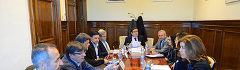 El secretario general de Agricultura y Alimentación se reúne con representantes de la Junta directiva de la Organización Interprofesional del Vino. Foto: Ministerio de Agricultura, Alimentación y Medio Ambiente