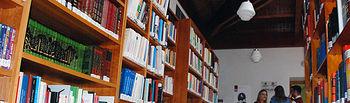 Biblioteca de la Escuela de Traductores de Toledo.