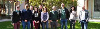 Grupo de investigadores dirigido por el profesor A. Douhal.