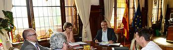Isabel García Tejerina recibe al secretario general de FEAGRA-CCOO. Foto: Ministerio de Agricultura, Alimentación y Medio Ambiente
