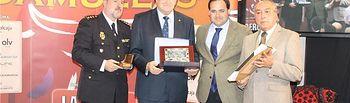 El presidente de la Diputación, Francisco Núñez, participa en la entrega de los IX Premios Taurinos 'Samueles'