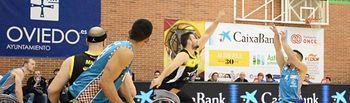 El BSR Amiab Albacete, otra vez subcampeón de la Copa del Rey de Baloncesto en silla de ruedas, al perder en la final con el Ilunion (75-61).