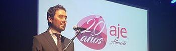Manuel Murcia, presidente de AJE Albacete.