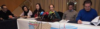 Presentación de los datos de donaciones en Albacete
