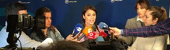 La vicesecretaria de Estudios y Programas del PP, Andrea Levy