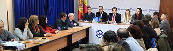 Comité de Dirección Provincial del Partido Popular de Toledo. Foto: PP CLM.