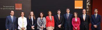 Cospedal asiste al acto de presentacion de 4G de Orange en CLM (1). Foto: JCCM.