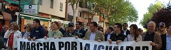 XIII edición de la 'Marcha por la Igualdad'.