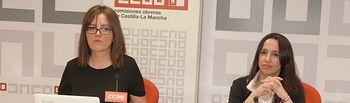 Mª Ángeles Castellanos y Rosario Martínez brecha salarial.