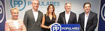El PP de Ciudad Real presenta sus candidaturas al Congreso y al Senado.