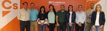 Junta directiva Ciudadanos Albacete.
