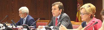 Intervención Saavedra en Senado. Foto: Ministerio de Agricultura, Alimentación y Medio Ambiente