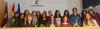 Alumnas del IES Tomás Navarro Tomás.