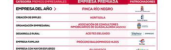 Premios Excelencia Empresarial 2019 de CEOE-Cepyme Guadalajara.