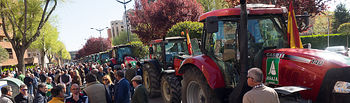 Manifestación / Tractorada de ASAJA en Albacete