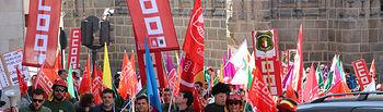 Manifestación de Agentes Medioambientales en Toledo.
