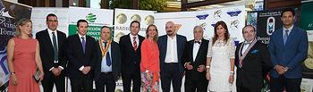 Casero asiste a la gala de entrega de premios de Radio Turismo. Foto: JCCM.