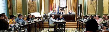 Pleno Diputación octubre.