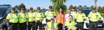 El subdelegado del Gobierno y la Jefa Provincial de Tráfico asistieron a un control montado en la autovía.