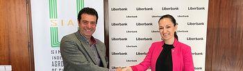 Convenio de colaboración firmado entre SIAC- Sindicato Independiente Agropecuario de Cuenca y Liberbank