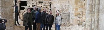El presidente de Castilla-La Mancha, Emiliano García-Page, realiza una visita institucional al Ayuntamiento del municipio. Posteriormente, visita el monasterio de Santa María de Bonaval. (Fotos: Ignacio López//JCCM)