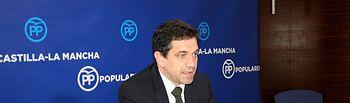 El senador y secretario de Medio Rural del Partido Popular de Castilla-La Mancha, Miguel Ángel Valverde.