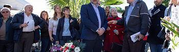 José Luis Ábalos en Paterna en el homenaje a los fusilados en el Paredón de Paterna