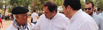 Paco Núñez en el Día del Agricultor en Campo de Criptana (Ciudad Real).