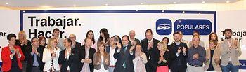 Candidatura del PP al Ayuntamiento de Almansa.