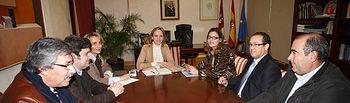 Casero se reúne con Asociación de Empresarios de la Siderometalurgia de Ciudad Real. Foto: JCCM.