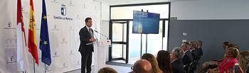 El presidente de Castilla-La Mancha, Emiliano García-Page, inaugura la primera fase de la ampliación del colegio de Educación Infantil y Primaria (CEIP) 'Remigio Laín' de Yuncler (Toledo), incluida en el Plan de Infraestructuras Educativas 2015-2019. (Fotos: Ignacio López // JCCM)