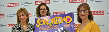"""CCOO Albacete presenta la II Edición del """"SORORIDAD MUSIC FESTIVAL"""""""