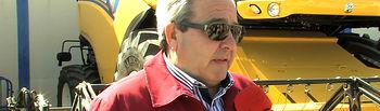 Honorato León, presidente de la Asociación de Concesionarios y Fabricantes de Maquinaria Agrícola (así como de la empresa de maquinaria agrícola AGROALBA).