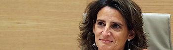 GRAF7864. MADRID (ESPAÑA), 11/07/2018.- La ministra para la Transición Ecológica, Teresa Ribera, durante su comparecencia para para informar de las prioridades de su Departamento, esta mañana en en Congreso de los Diputados.-EFE/Ballesteros