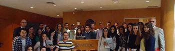 Alumnos de la UCLM, durante la celebración del seminario.