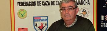 Juan de Dios García, delegado provincial de la Federación de Caza de Castilla-La Mancha en Albacete.