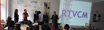 Presentación del concurso en la Escuela de Arquitectura.