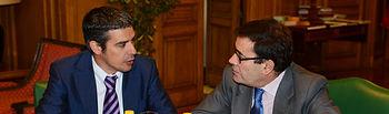 Carlos Cabanas se reúne con el consejero de Agricultura, Ganadería, Pesca y Aguas de Canarias. Foto: Ministerio de Agricultura, Alimentación y Medio Ambiente